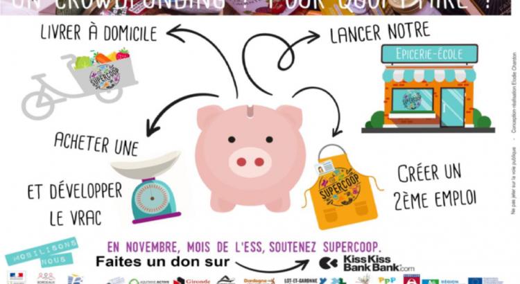 Supercoop franchit un cap avec le crowdfunding et KissKissBankBank