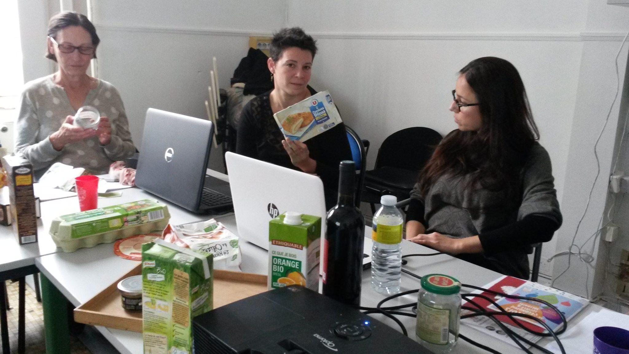 Atelier Supercoop savoir lire les étiquettes nutritionnelles
