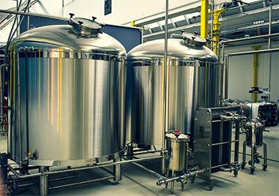 Cuves de fermentation pour la bière